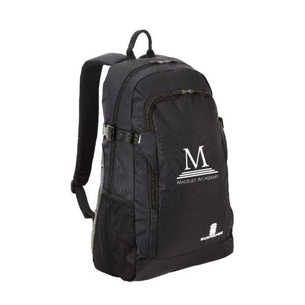 Bild von Madeley Academy 6th Form - Backpack - Black