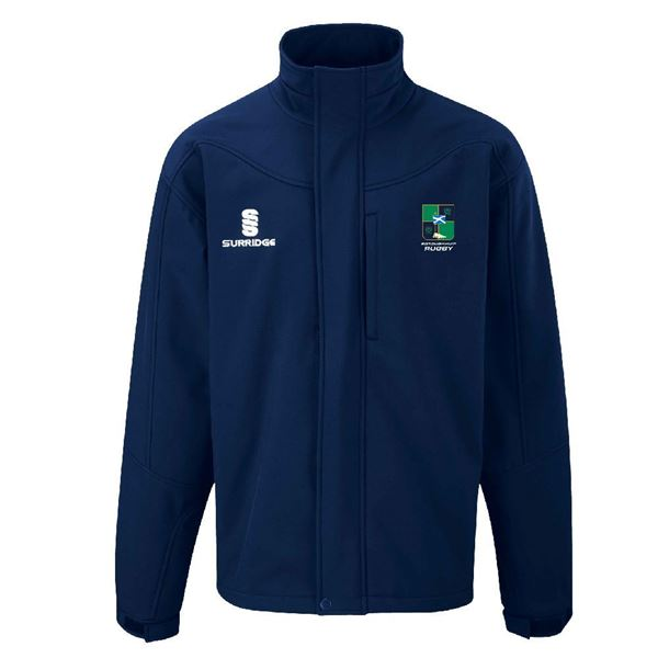 Image sur Boroughmuir Rugby Soft Shell Jacket