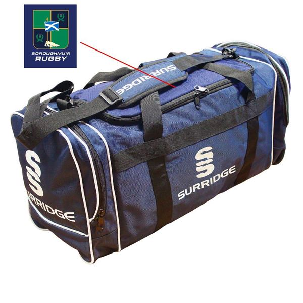 Image sur Boroughmuir Rugby Holdall