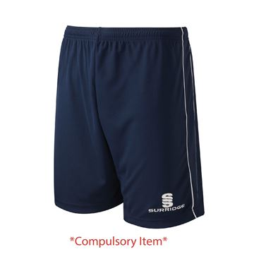 Image de Haslingden High School - PE Shorts - Navy/White (Compulsory Items)
