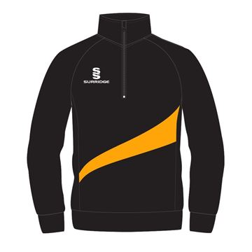 Afbeeldingen van PERFORMANCE TOP IN BLACK WITH AMBER SWOOSH