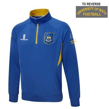 Picture of University of Bath 1/4 Zip Performance Top