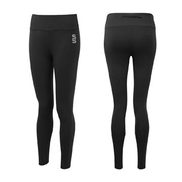 Afbeeldingen van Madeley Academy 6th Form - Full Length Leggings - Black