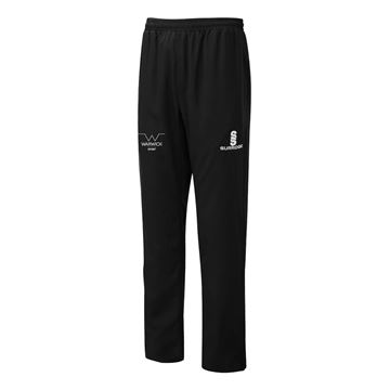 Picture of Warwick University - Poplin Track Pant  - Black/White