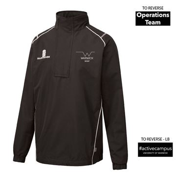 Picture of Warwick University - Blade Rain Jacket  - Black/White