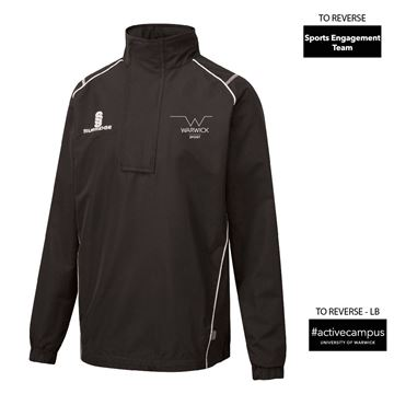 Bild von Warwick University - Blade Rain Jacket  - Black/White
