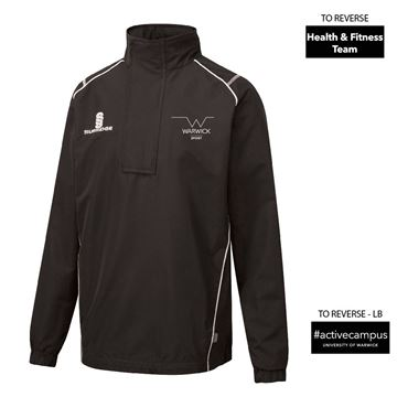 Image de Warwick University - Blade Rain Jacket  - Black/White