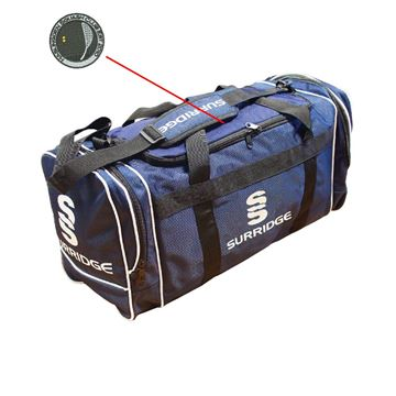 Picture of Haslingden Squash Club Holdall - Navy