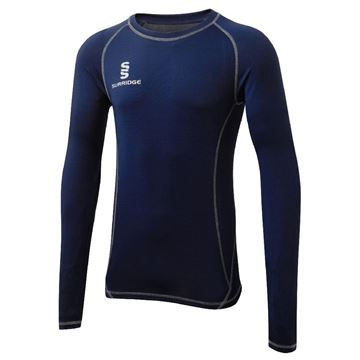 Image de Haslingden Squash Club Long Sleeve Sug - Navy