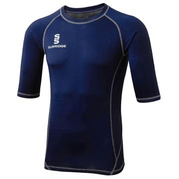 Picture of Haslingden Squash Club Short Sleeve Sug - Navy