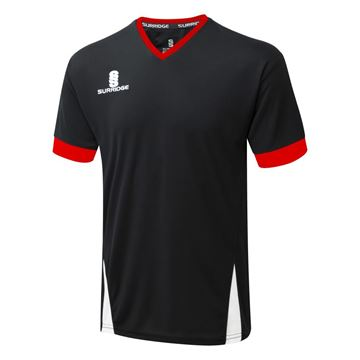 Picture of Blade Training Shirt : Black / Red / White