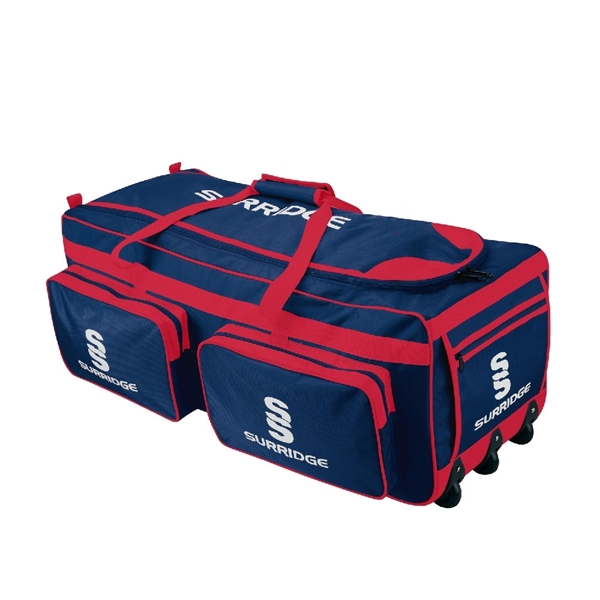 Image sur Large Holdall - Navy/Red/White