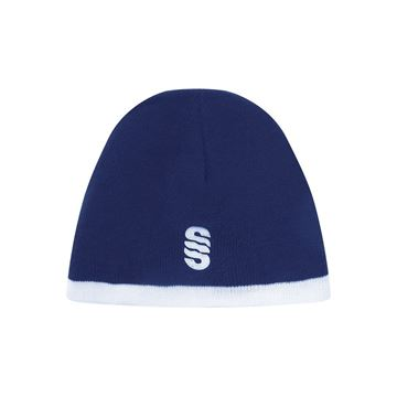 Picture of Chichester Reversible Beanie Navy/Sky