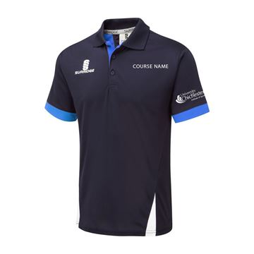 Picture of Chichester Blade Polo - Royal-Navy-White