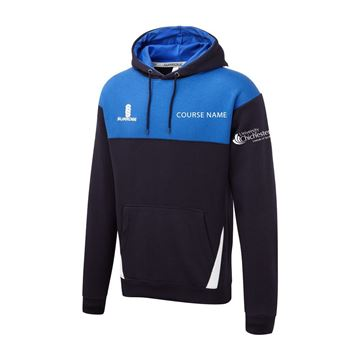 Picture of Chichester Blade Hoodie - Royal-Navy-White