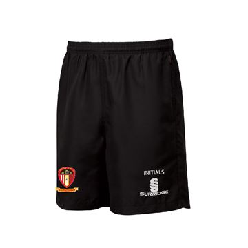 Bild von Hayes and Yeading FC Black Training Shorts