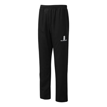 Picture of POPLIN TRACK PANT - BLACK