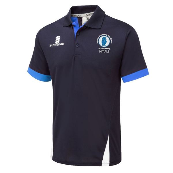 Imagen de Standish Community High School - Blade Polo - Navy/Royal/White