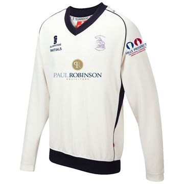 Picture of Billericay CC WEB Curve Long Sleeve Sweater Navy