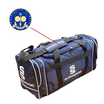 Picture of University of Bath - Navy holdall