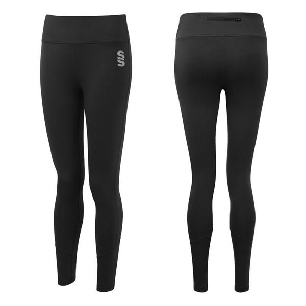 Afbeelding van University Of Portsmouth Black Leggings