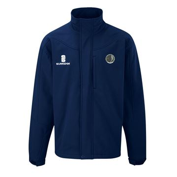 Image de Haslingden Squash Club Soft Shell Jacket - Navy