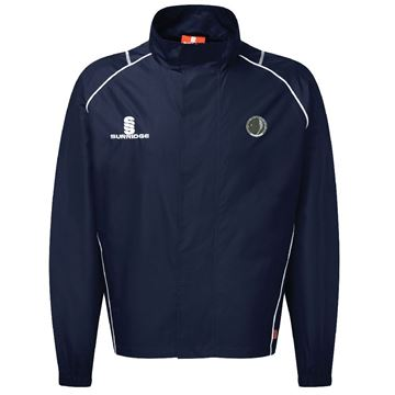 Picture of Haslingden Squash Club Rain Jacket - Navy
