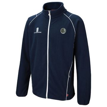 Picture of Haslingden Squash Club Fleece Jacket - Navy
