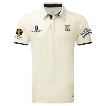 Picture of Porchfield CC Short Sleeved Cricket Shirt
