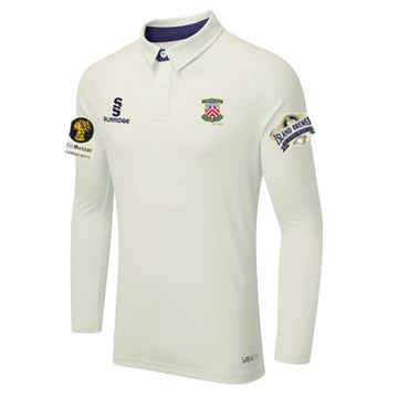 Picture of Porchfield CC Long Sleeved Cricket Shirt