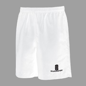Picture of Ripstop Training Shorts - White - Mens & Ladies Fit