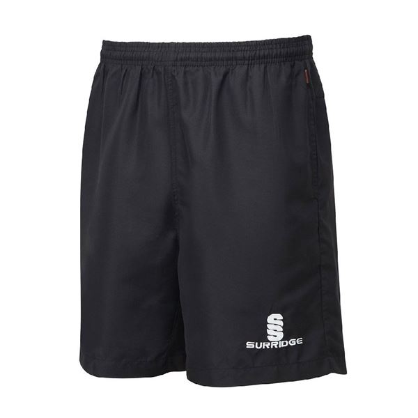 Picture of Pocketed Training Ripstop Shorts - Black