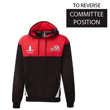 Picture of UCLan Womens Rugby Blade Hoodie