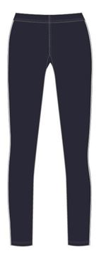Image de FULL LENGTH LEGGINGS NAVY/WHITE