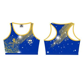 Picture of University of Bath Athletics – Crop Top Racer Back
