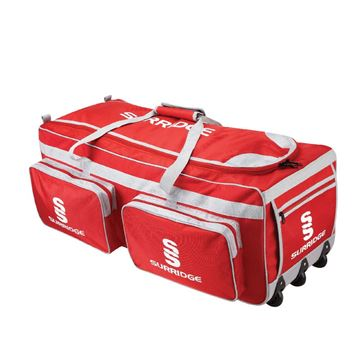 Picture of LARGE HOLDALL - RED/SILVER