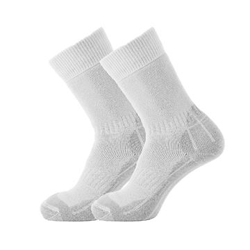 Picture of CRICKET PLAYING SOCK - WHITE/GREY
