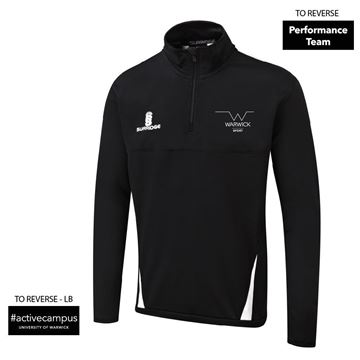 Picture of Warwick University - Blade Performance Top - Black/White