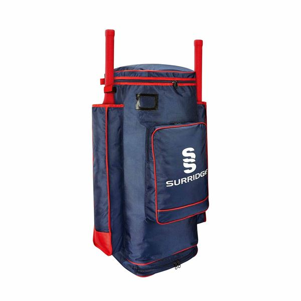 Picture of Cricket Club SS Pro Duffle Bag - NAVY/RED