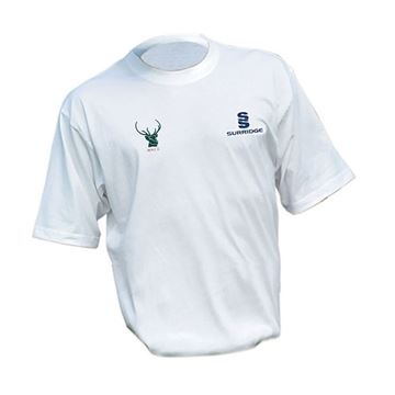 Picture of West Herts CC Cotton White T-Shirt