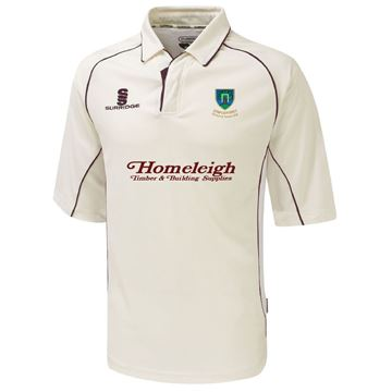 Afbeeldingen van Staplehurst Cricket & Tennis Club Premier 3/4 Sleeved Shirt