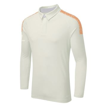 Bild von DUAL LONG SLEEVE CRICKET SHIRT - Orange