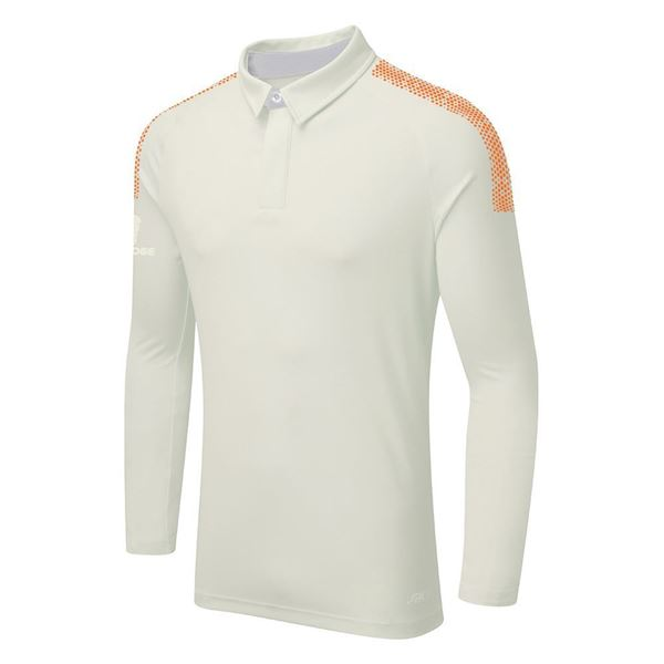 Image sur DUAL LONG SLEEVE CRICKET SHIRT - Orange