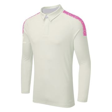 Bild von DUAL LONG SLEEVE CRICKET SHIRT - Pink