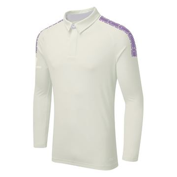 Picture of DUAL LONG SLEEVE CRICKET SHIRT - Purple