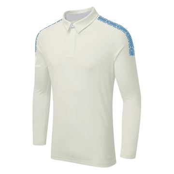 Image de DUAL LONG SLEEVE CRICKET SHIRT - Royal