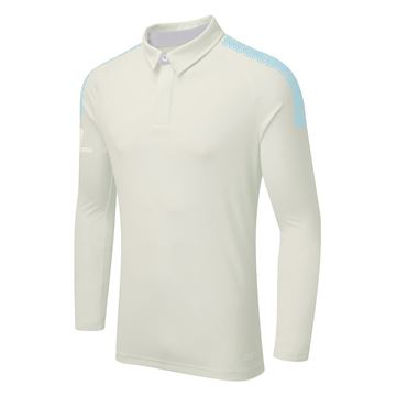 Picture of DUAL LONG SLEEVE CRICKET SHIRT - Sky