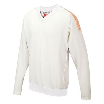 Picture of Dual Long Sleeve Sweater - Orange