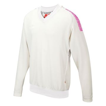 Picture of Dual Long Sleeve Sweater - Pink