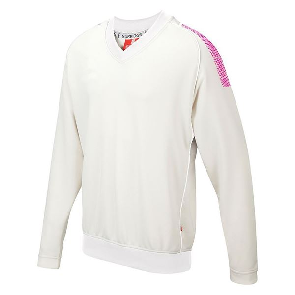 Bild von Dual Long Sleeve Sweater - Pink